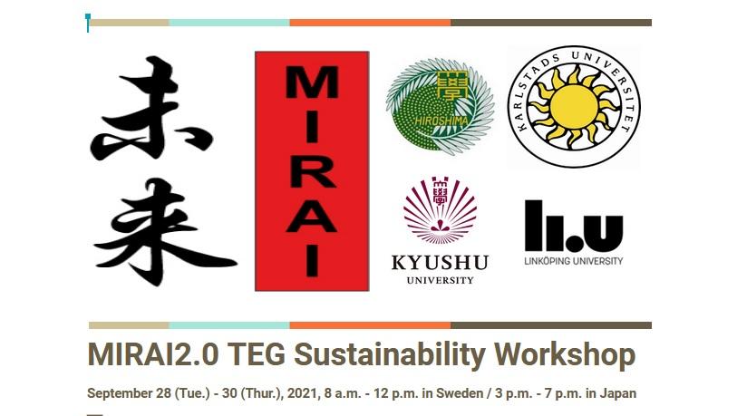 MIRAI TEG workshop